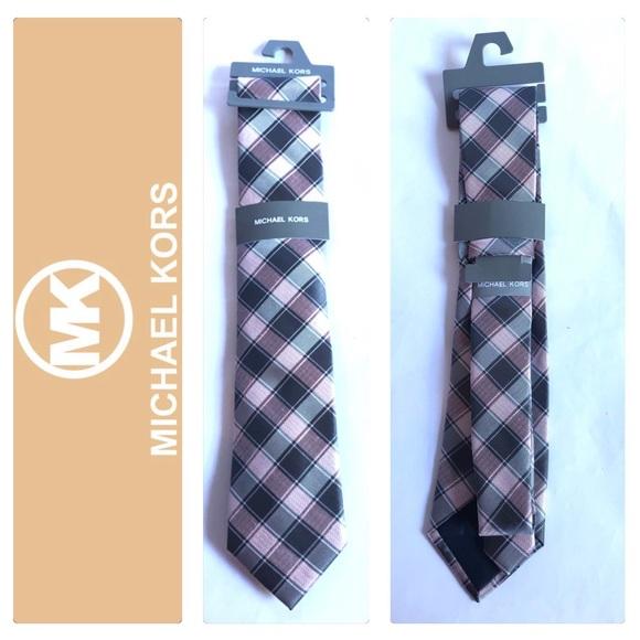 Michael Kors Men's Polyester & Linen Tie